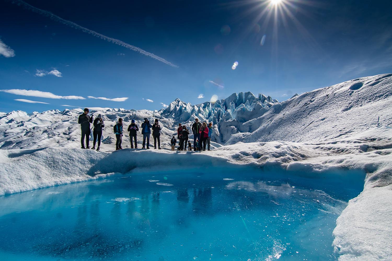 Trek on the Perito Moreno Glacier in Santa Cruz, Argentina